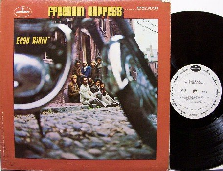 Freedom Express - Easy Ridin' - White Label Promo - Vinyl LP Record - Rock