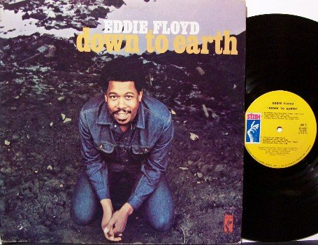 Floyd, Eddie - Down To Earth - Vinyl LP Record - Stax Label Original Pressing - R&B Soul Rock