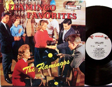 Flamingos, The - Flamingo Favorites - Vinyl LP Record - Rock
