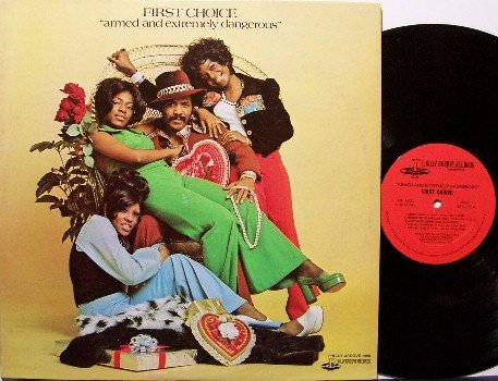 First Choice - Armed And Extremely Dangerous - Vinyl LP Record - Philly Groove - Female R&B Soul