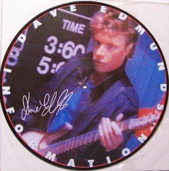 """Edmunds, Dave - 12"""" Vinyl LP Promo Only Picture Disc - 1983 - Rock"""