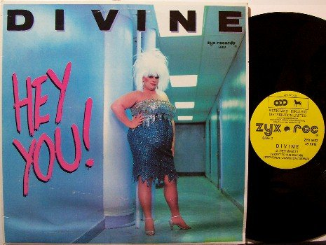 "Divine - Hey You - Vinyl 12"" LP Single - Rock"