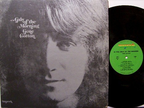 Cotton, Gene - In The Gray Of The Morning - Vinyl LP Record - Grey - Rock