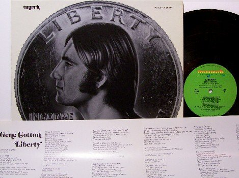 Cotton, Gene - Liberty - Vinyl LP Record - Rock