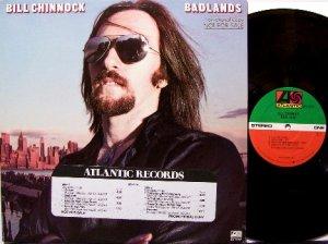 Chinnock, Bill - Badlands - Vinyl LP Record - Billy - Rock