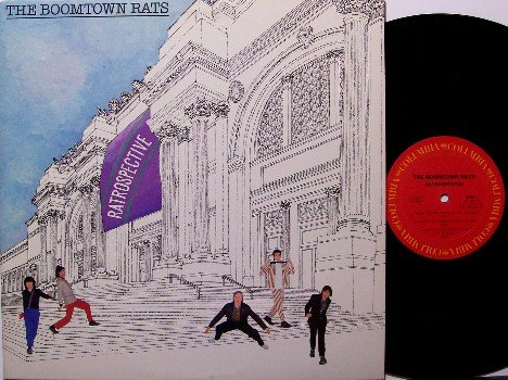 Boomtown Rats - Ratrospective - Vinyl LP Record - Promo - Rock