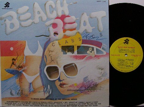 Beach Beat Classics - Various Artists / Obscure Beach & Surf Music - Vinyl LP Record - Rock
