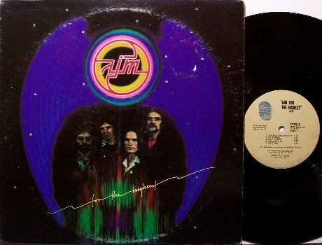 Aim - Aim For The Highest - Vinyl LP Record - Rock