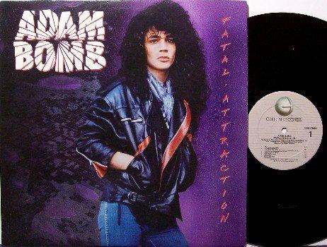 Adam Bomb - Fatal Attraction - Vinyl LP Record - Jimmy Crespo - Rock