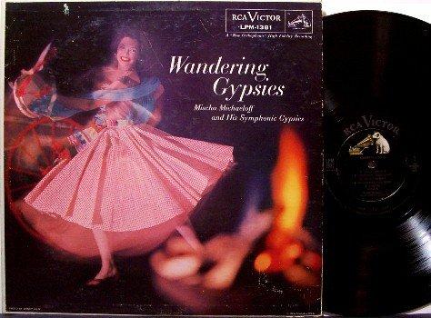 Wandering Gypsies - Gypsy Music - Vinyl LP Record - Mischa Michaeloff - Odd Unusual