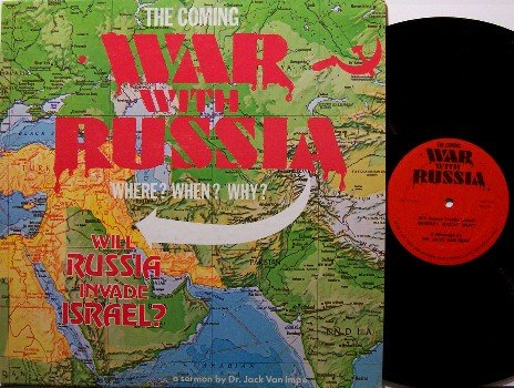 Van Impe, Dr. Jack - The Coming War With Russia - Vinyl LP Record - Odd Unusual