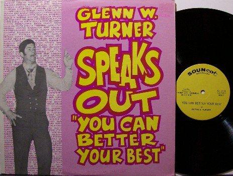 Turner, Glenn W - You Can Better Your Best - Vinyl LP Record - Harelip Speaker - Odd Unusual