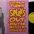 Turner, Glenn W - You Can Better Your Best - Vinyl LP Record - Harelip Speaker - Odd Unusual