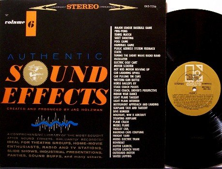 Sound Effects - Vinyl LP Record - Elektra Volume 6 - Odd Unusual