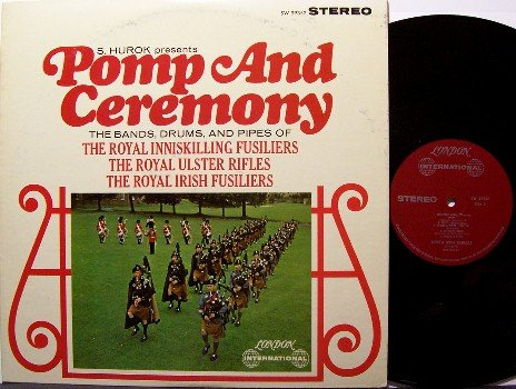 Pomp & Ceremony - Bagpipes Music - Vinyl LP Record - Military