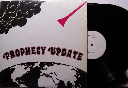 Prophecy Update - 2 Vinyl LP Record Set - End Of Times Recording - Bill McKee - Odd Unusual