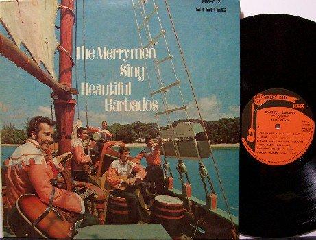 Merrymen - Sing Beautiful Barbados - Vinyl LP Record / Booklet - Calypso - Odd Unusual