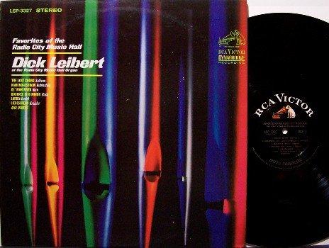 Liebert, Dick - Favorites Of The Radio City Music Hall - Vinyl LP Record - Organ - Odd Unusual
