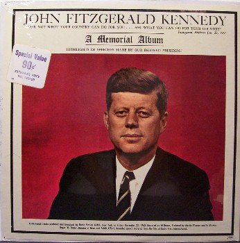 Kennedy, John Fitzgerald - Memorial Album - Sealed Vinyl LP Record - JFK - President - Odd Unusual