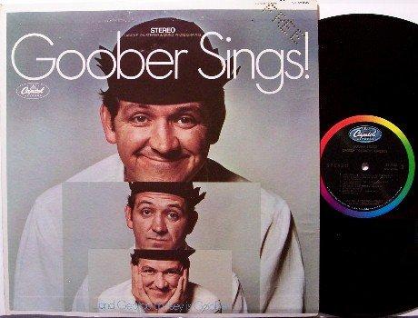 Goober Sings - George Lindsey - Vinyl LP Record - Andy Griffith - Odd Unusual