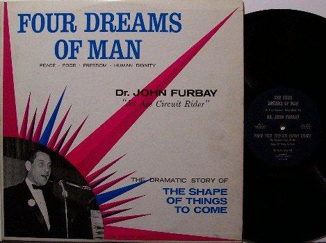 Furbay, Dr. John - Four Dreams Of Man - Vinyl LP Record - Jet Age Circuit Rider - Odd Unusual
