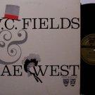 Fields, W.C. & Mae West - Vinyl LP Record - WC - Comedy Odd Unusual