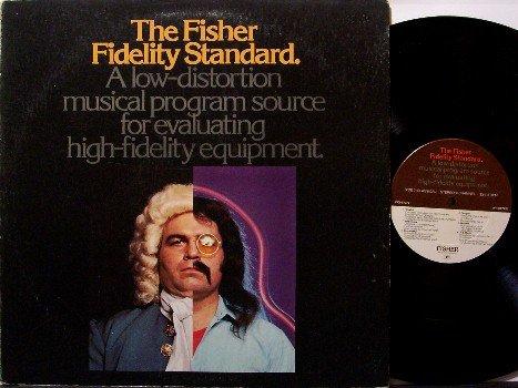 Fisher Fidelity Standard, The - Vinyl LP Record - Stereo Test Album - Odd Unusual