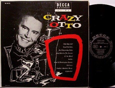 Crazy Otto - Vinyl LP Record - Original Mono - Exotic Piano Music - Odd Unusual