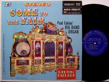 Come To The Fair - Vinyl LP Record - Automatic Self Playing Organ Instrument - Carnival