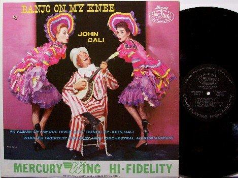 Cali, John - Banjo On My Knee - Vinyl LP Record - River Boat Music - Mono - Sexy Odd Unusual