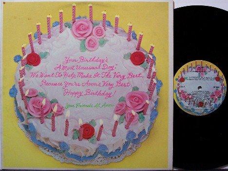 Avon Company Promo Album - A Most Unusual Day - Vinyl LP Record - Birthday Present Odd Unusual
