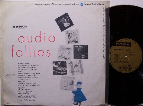 Audio Follies - Cook Label Scary Sounds Compilation - Vinyl LP Record - Colored Vinyl - Halloween