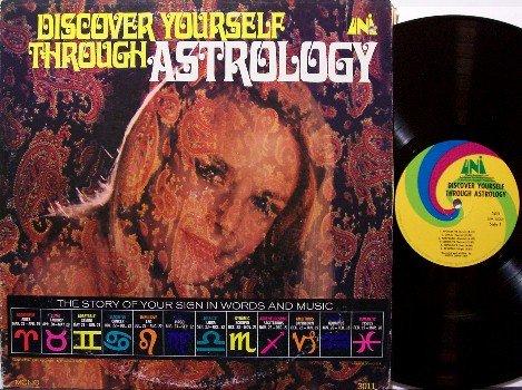 Astrology, Discover Yourself Through - Vinyl LP Record - Original Mono - Odd Unusual