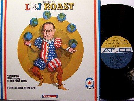 L B J Roast - President Lyndon Johnson - Mono - Vinyl LP Record - Larry King - LBJ - Comedy