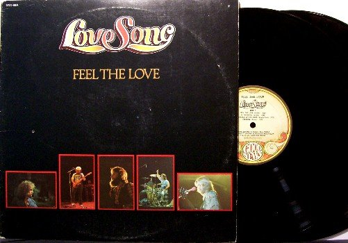 Love Song - Feel The Love - 2 Vinyl LP Record Set - Christian Rock - Lovesong - Chuck Girard