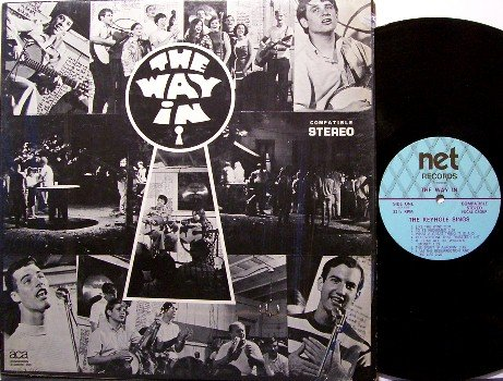 Keyhole - The Way In - Coffeehouse Ministry Private Label - Vinyl LP Record - Unusual Xian