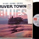 Big Lucky, Big Amos, Don Hines - River Town Blues - Vinyl LP Record - Memphis Theme - Promo