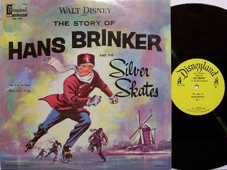 Disney, Walt - Presents The Story Of Hans Brinker - Vinyl LP Record - Children Kids