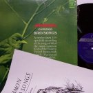 Common Bird Songs - Vinyl LP / Booklet - 60 Actual Bird Animal Sound Recordings - Weird Unusual