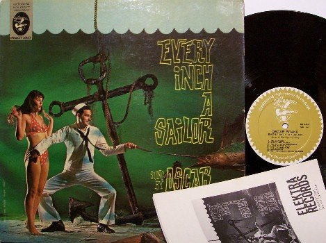 Brand, Oscar - Every Inch A Sailor - Vinyl LP Record + Booklet - Great Cover - Weird Unusual