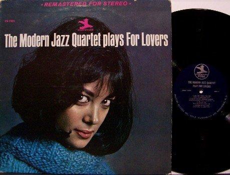 Modern Jazz Quartet - Plays For Lovers - Vinyl LP Record - Prestige Label - Jazz - RVG - Van Gelder