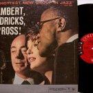 Lambert, Hendricks, & Ross - The Hottest New Group In Jazz - Vinyl LP Record - Mono 6 Eye Label