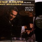 Krupa, Gene - Plays Gerry Mulligan Arrangements - Vinyl LP Record - Verve Jazz