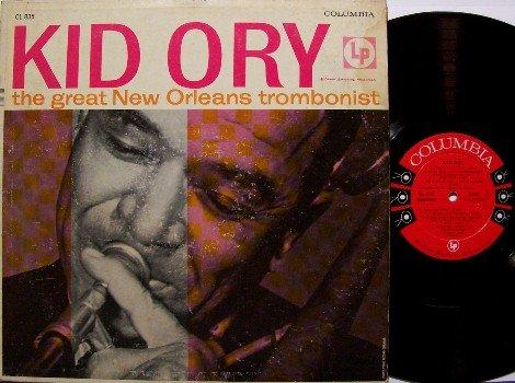 Kid Ory - The Great New Orleans Trombonist - Vinyl LP Record - Mono 6 Eye Label - Jazz