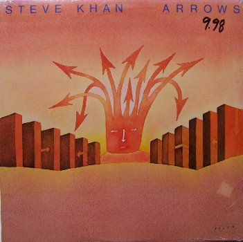 Khan, Steve - Arrows - Sealed LP Record - Jazz