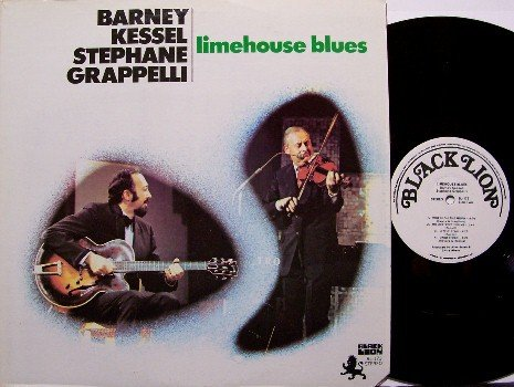 Kessel, Barney & Stephane Grappelli - Limehouse Blues - Vinyl LP Record - Jazz