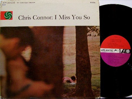 Connor, Chris - I Miss You So - Vinyl LP Record - Mono - Jazz