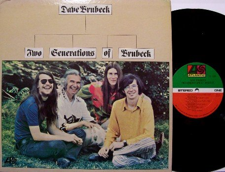 Brubeck, Dave - Two Generations Of Brubeck - Vinyl LP Record - Jazz