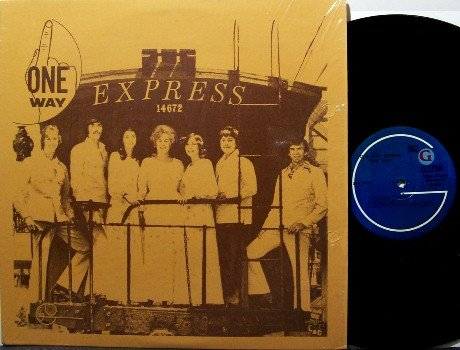 One Way Express - One Way - Vinyl LP Record - In Shrink Wrap - 70's Private Xian Christian