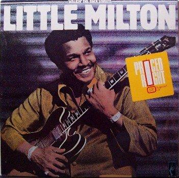 Little Milton - Walkin' The Back Streets - Sealed Vinyl LP Record - Memphis Blues